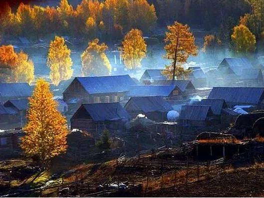 中国新疆藏着一处人间天堂!美到爆!