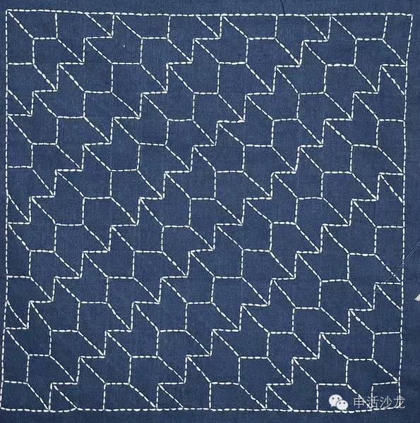 麦穗花的织法图解步骤