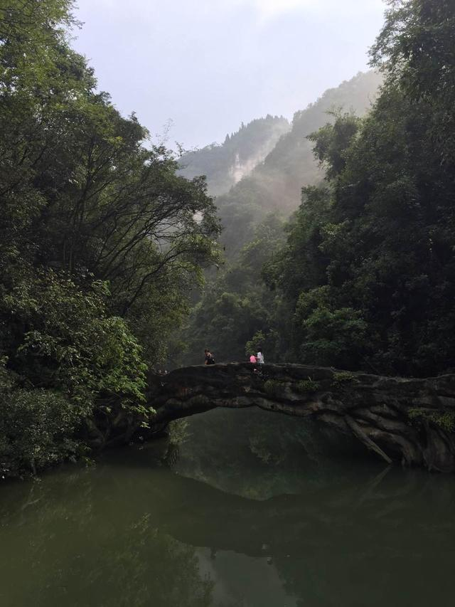 中国十大瀑布之一,三峡大瀑布原来在这里!