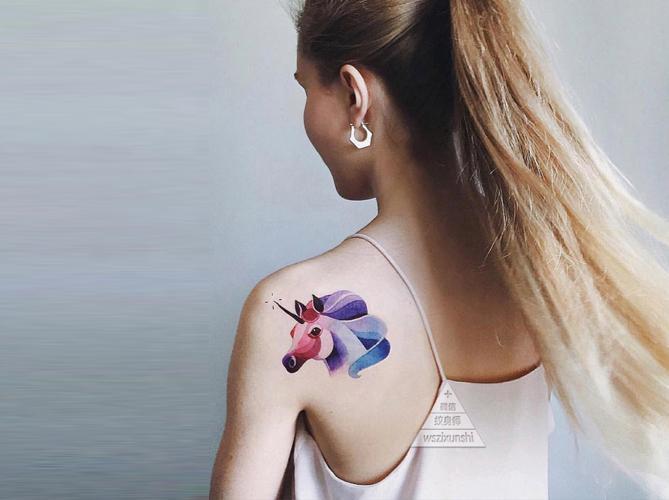 纹身师 | 精致文艺风彩色小纹身