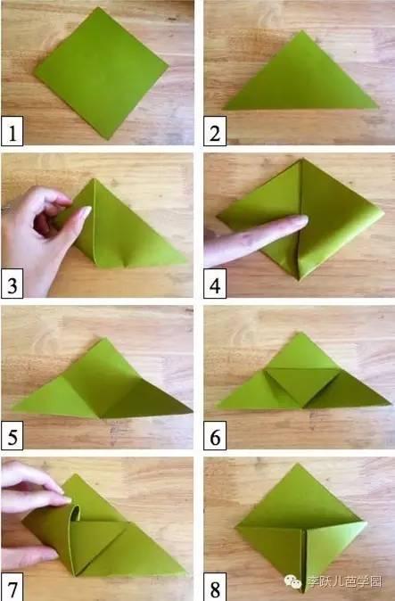 这些记忆中的折纸,你还记得多少.图片