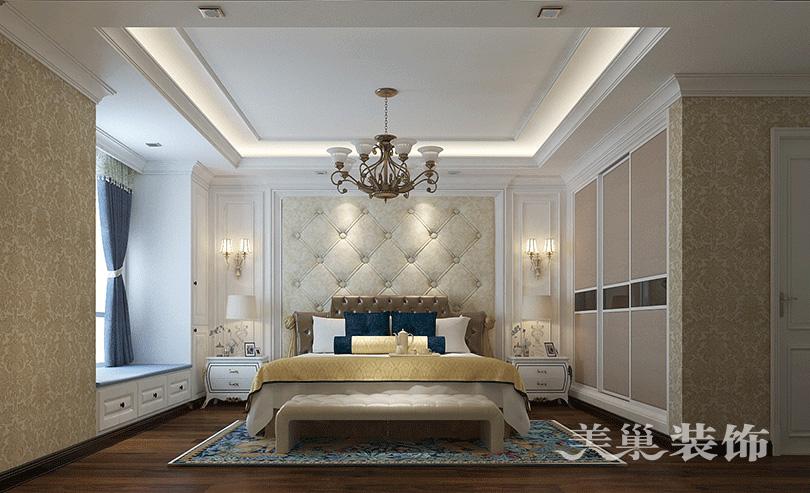 裕华广场装修效果图 四房两厅160平欧式柜子设计图片