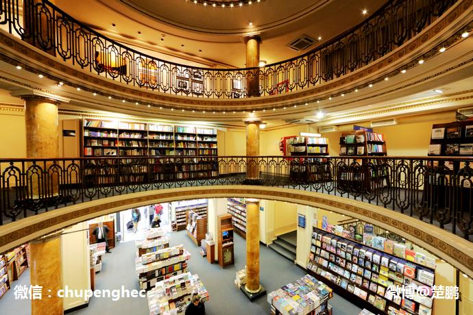 世上最美的书店和剧院什么样
