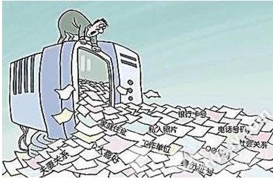 文明上网漫画手绘