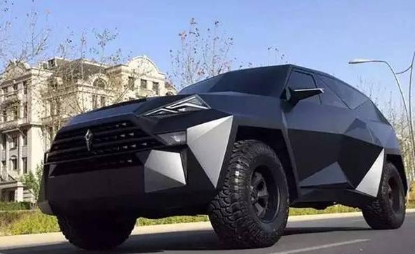 豪华SUV,比红旗还贵,叫价1200万高清图片
