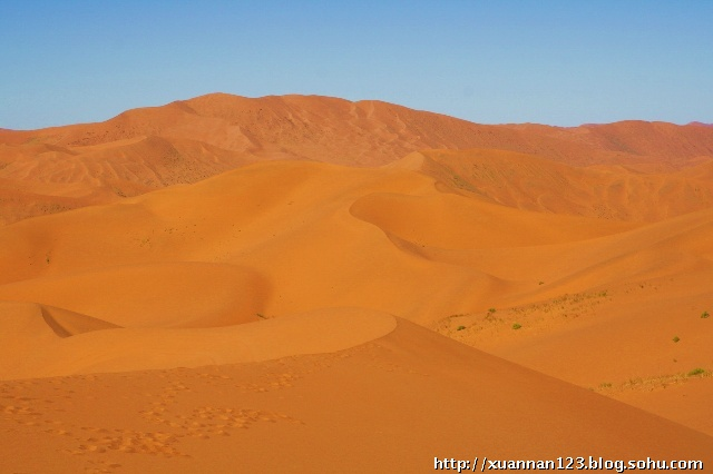阿毛的丝绸之路――第二站 巴丹吉林沙漠