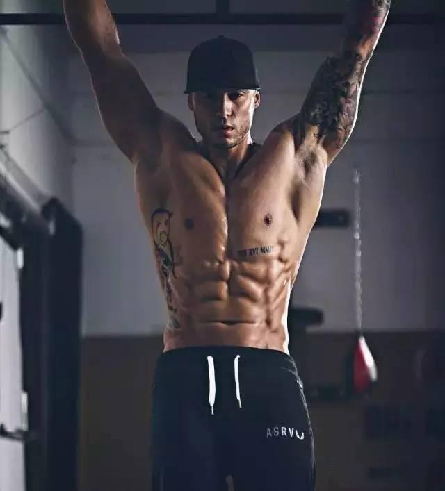 michael vazquez,ins爆红的健身达人.图片