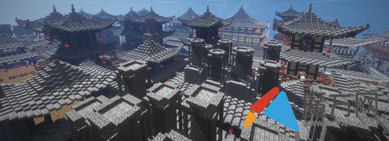 大秦地图下载 我的世界中式重生点分享图片