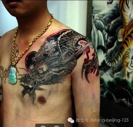 纹身图案手臂腾图