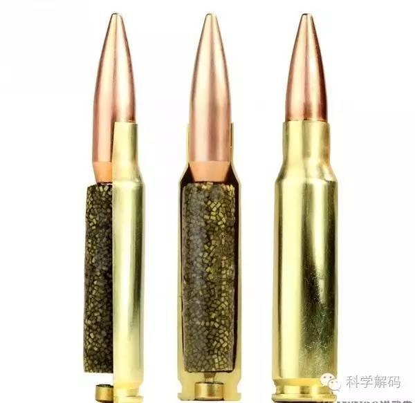 世界最流行六种子弹的解剖图:暴力之美!