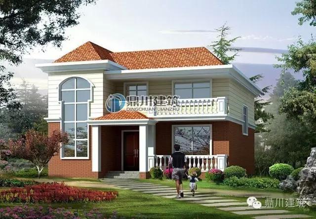 屋顶护栏别墅图片