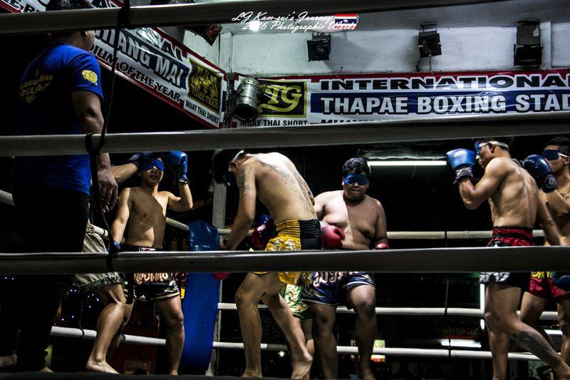体验泰拳上的泰北情调,看一场热血沸腾的泰拳