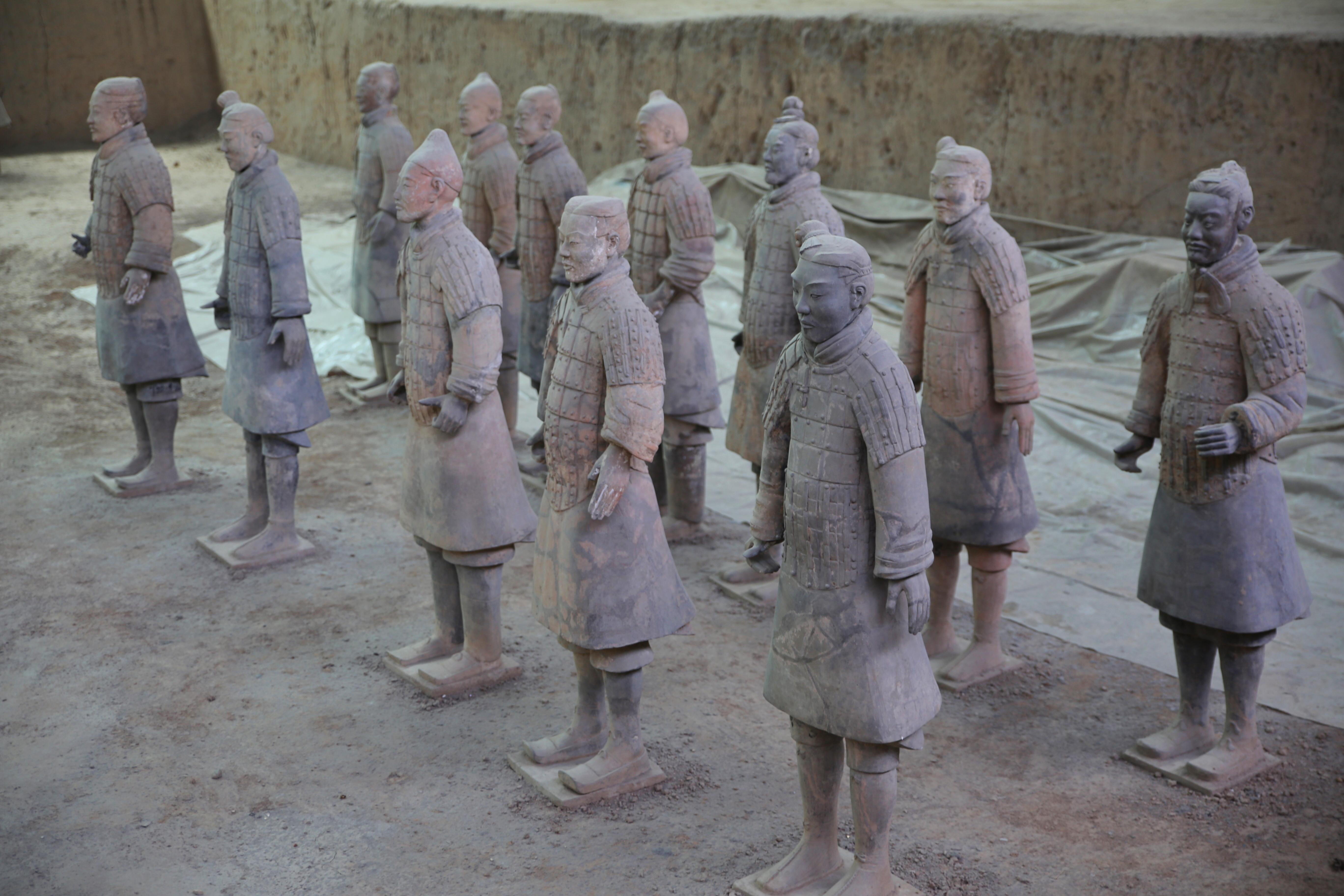 秦始皇兵马俑,寻找大秦帝国的历史足迹!