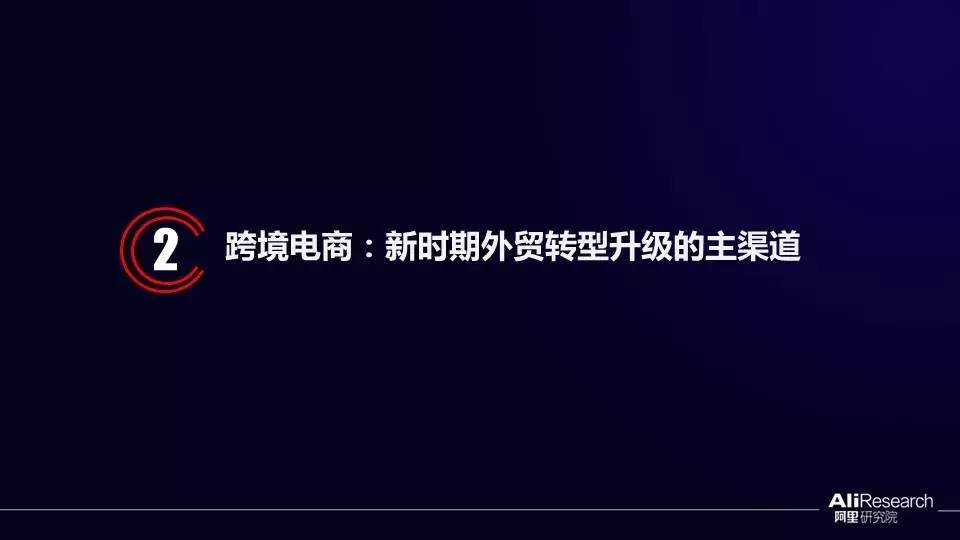 阿里研究院31张ppt阐述 中国跨境电商逆势崛起