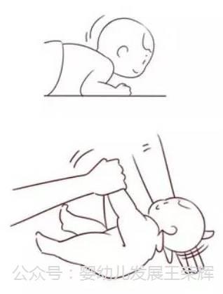 图解0-3岁宝宝大运动发育国际标准