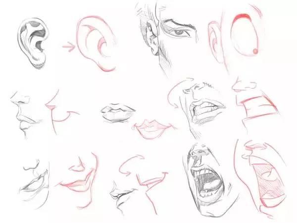怎么画卡通人物的脸?