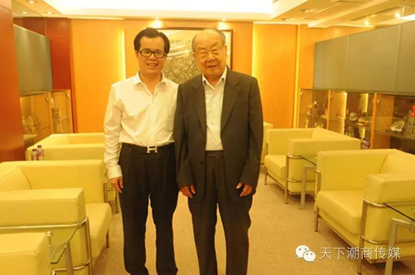香港众潮商大咖祝贺《天下潮商》十周年 陈少斌赴港拜访陈有庆,陈伟南