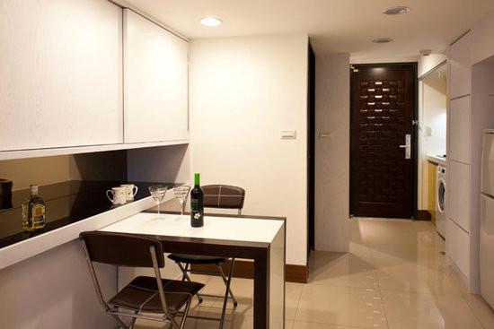 餐厅隔断酒柜效果图之小户型设计