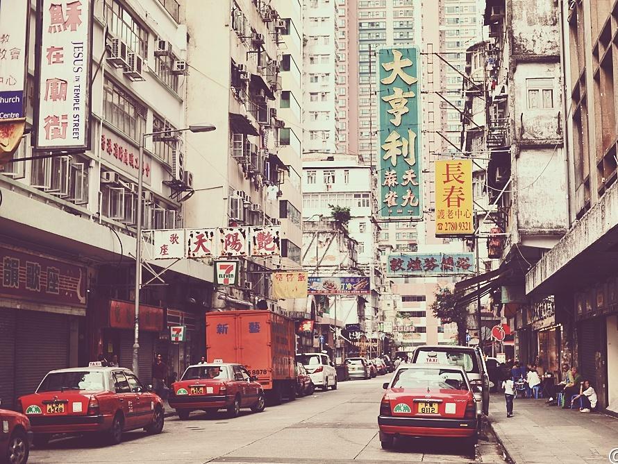 昨日重现-香港的日与夜