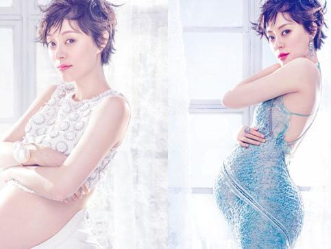 古代娘娘怀孕图片