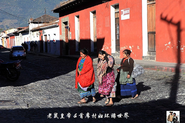 危地马拉古城安提瓜:一个印第安风情浓郁的城市