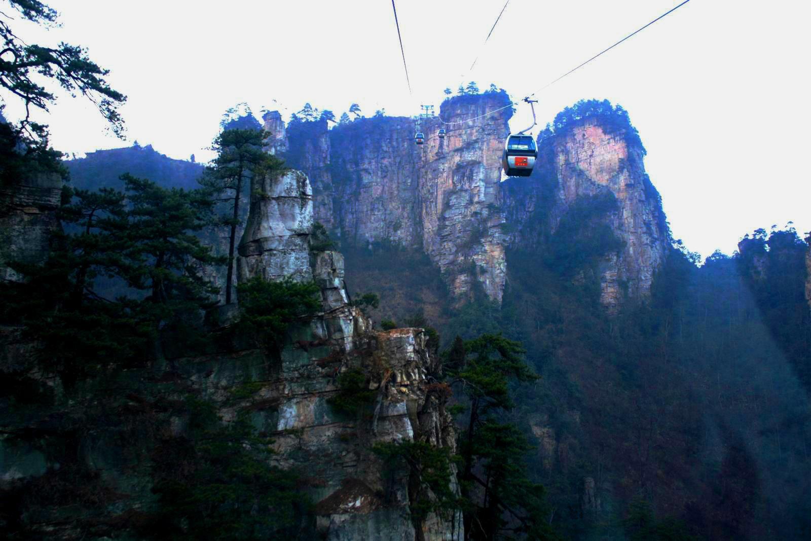 阿毛凤凰游:张家界的山
