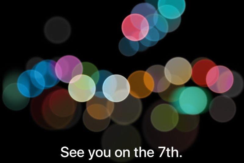 苹果邀请函宣布秋季发布会9月7日 或主打蓝色基调