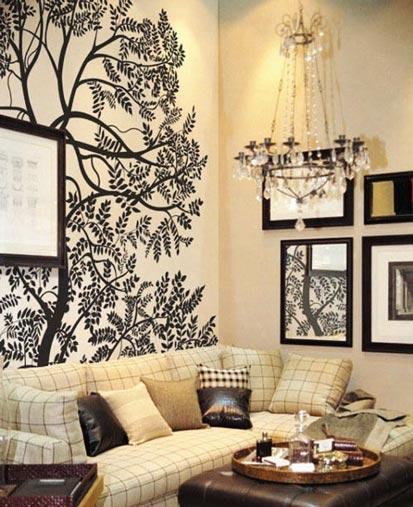 15款让人惊艳的手绘墙,墙面可以尝试这样设计.