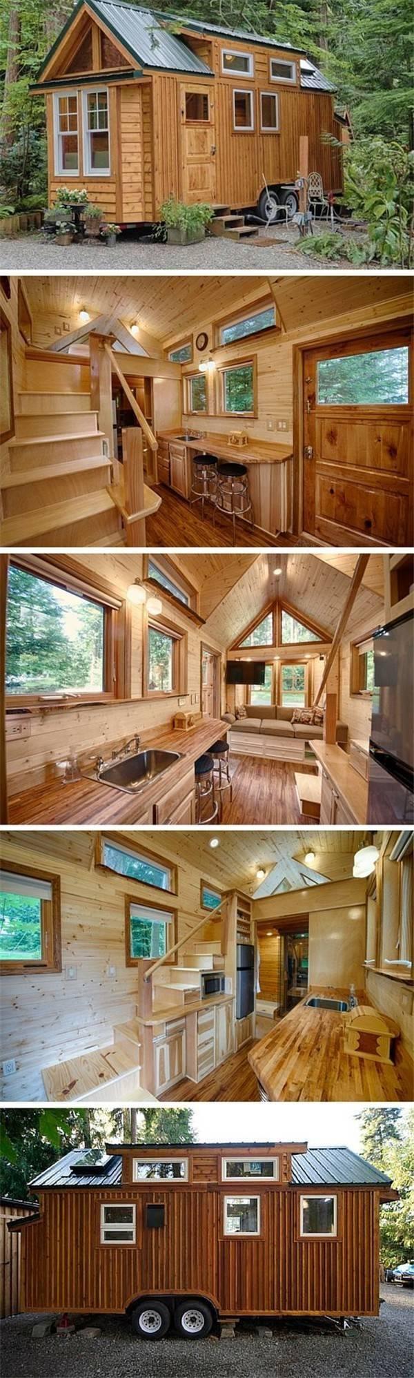 你们都想要大别墅,外国人却只想要这样的小房子!