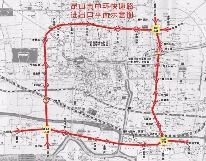 昆山s1线地图设计
