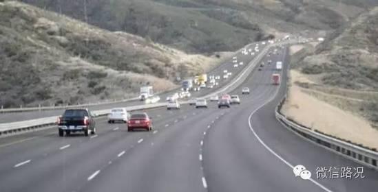 高速公路车道宽度