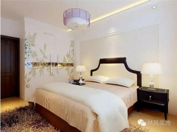 卧室欧式吊棚装修效果图