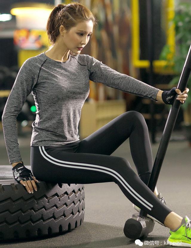 美美豆抵扣韩版2016春季新款件套健身服两女生喜欢是否瑜伽测试题你图片