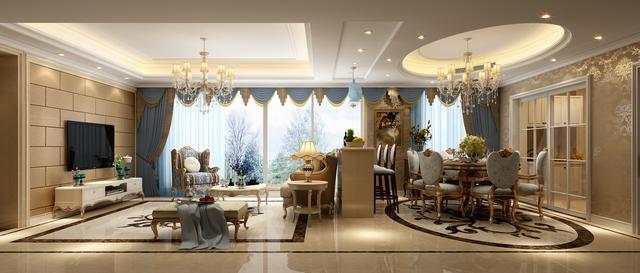 床是用传统的欧式风格的家具