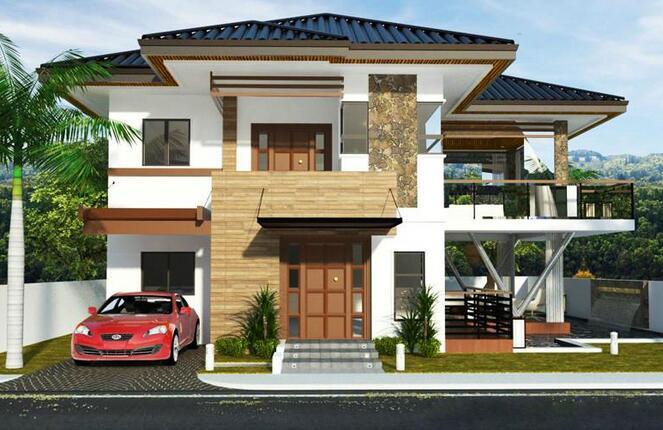 设计亮点:小别墅一共三层