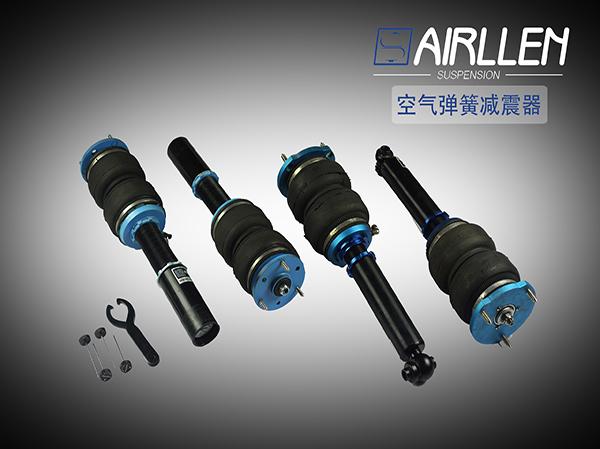 宝马5系f18改装airllen气动避震 醉美低姿态图片