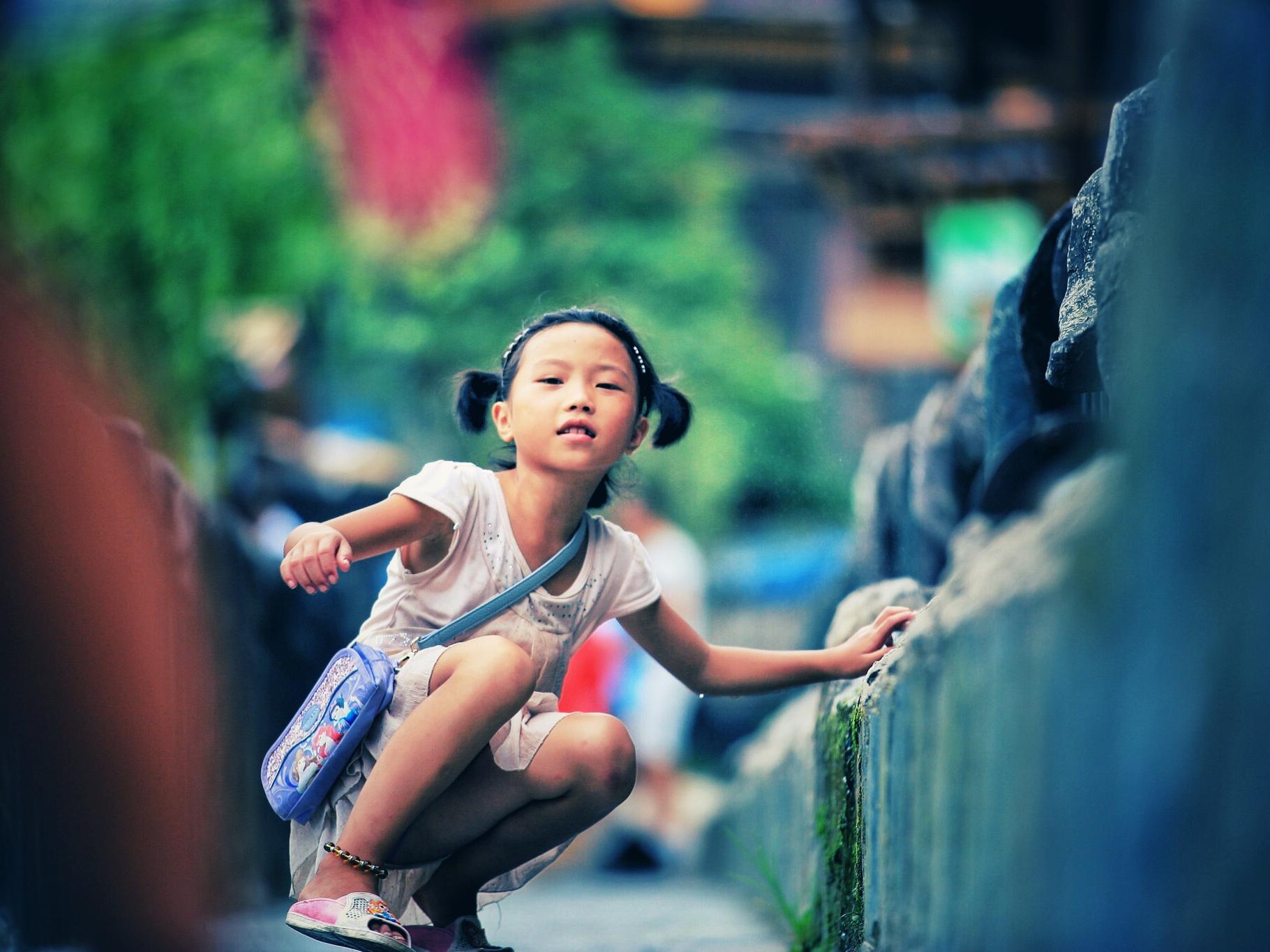西江千户苗寨|之孩童的模样