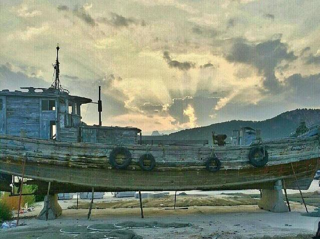 美丽青岛,崂山仰口海滩日落