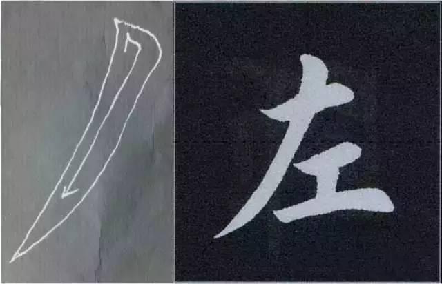 ┆ 收藏 欧体基本笔画动态图大全 附 欧楷的正确写法
