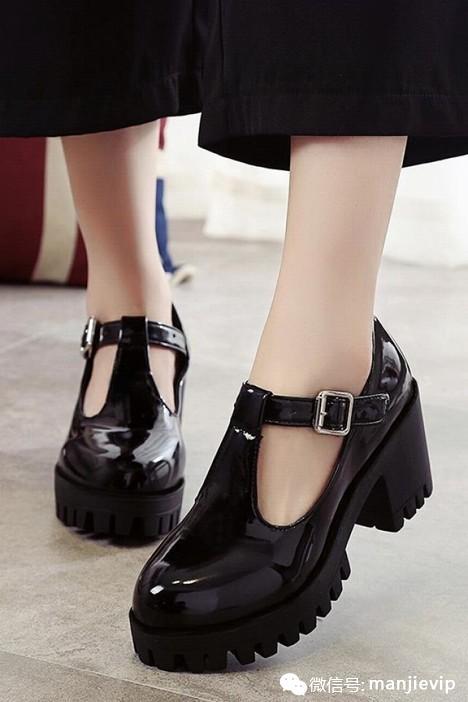 2016秋季新款制服鞋日系lo鞋高跟lolita洛丽塔公主森女洋装鞋图片