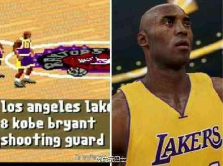 科比和詹姆斯年龄一样的时候NBA2K的能力值对比