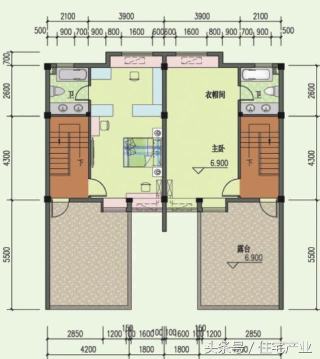 微信公众号:住宅公园,免费下载300套农村自建房