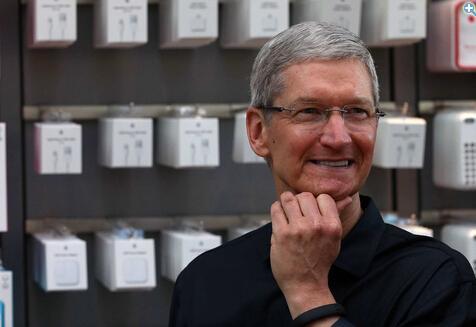 库克再次抛售苹果股票