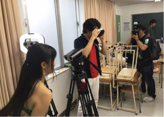cj promotion  VR直播技术震撼日本