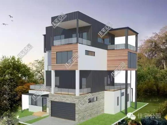 14x18米钢结构自建别墅,高端精美有品位!