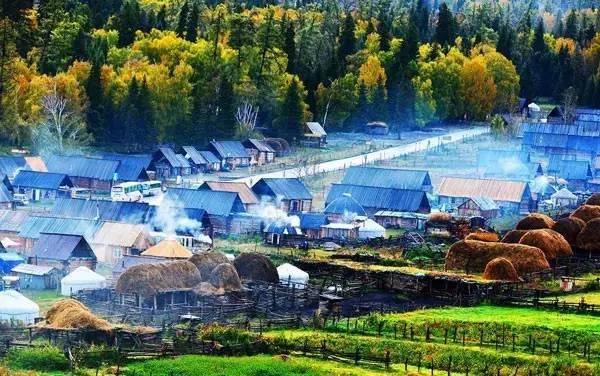 新疆的秋天,把摄影师逼疯了....... - 纽约文摘 - 纽约文摘