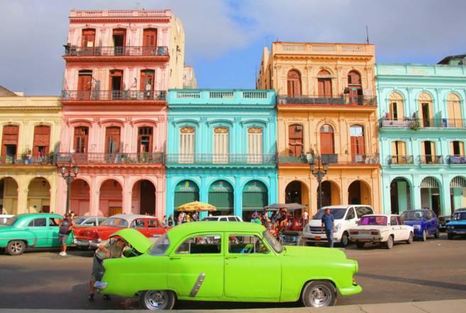 古巴老爷车,时空里一首不妥协的诗。