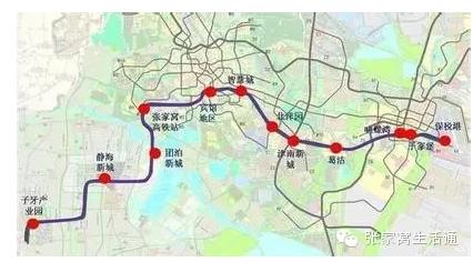 找全了 天津1 13号线在建地铁站完整名单 附图图片