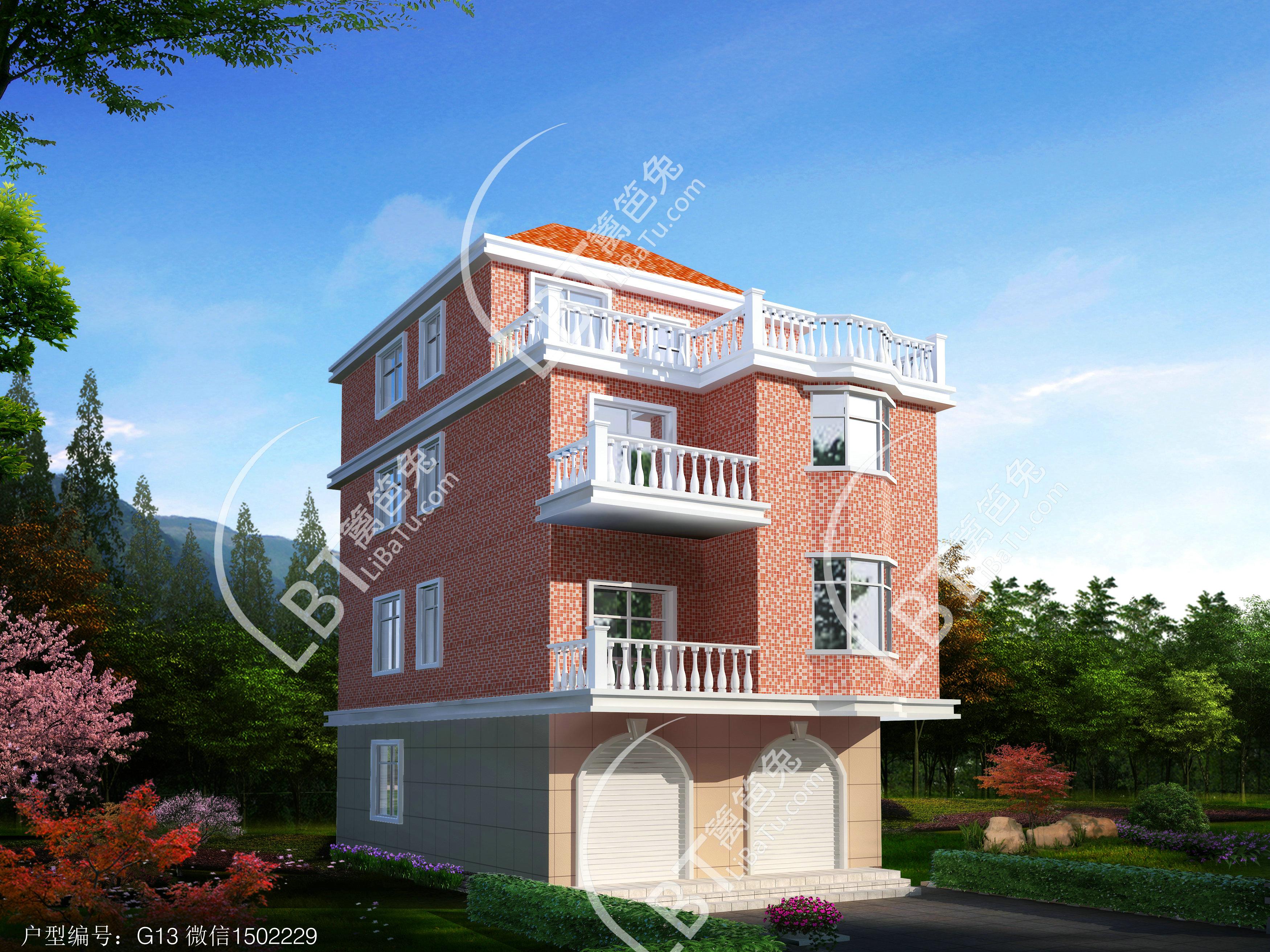 新农村自建房屋设计图纸