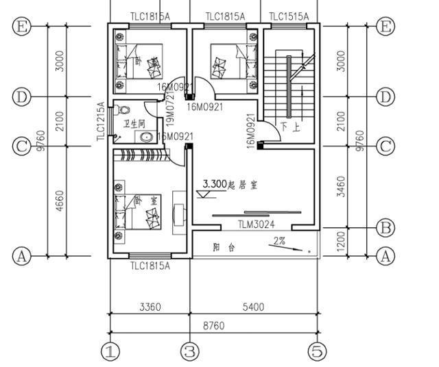 微信公众号:住宅公园,免费300套别墅自建房图纸下载,各种抗震保温的图片